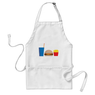 fast food meal standard apron