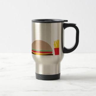 fast food meal travel mug