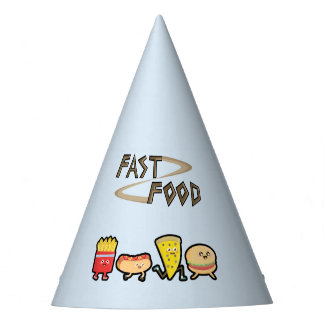 Fast Food Party Hat