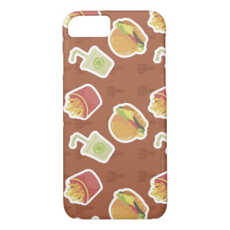 Fast-food Pattern iPhone 7 Case