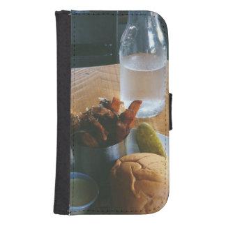 fast food phone wallet case
