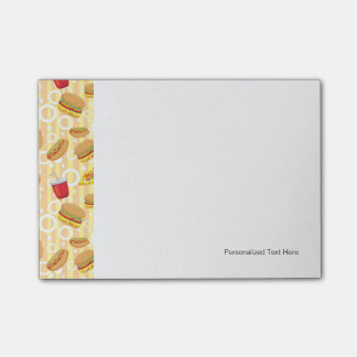 Fast Food Post-it Notes