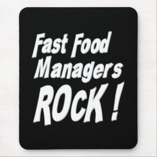 Fast Food Rock! Mousepad