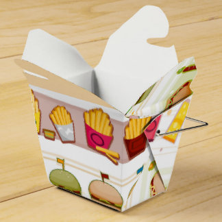 Fast Food Theme Food Box Favor Box