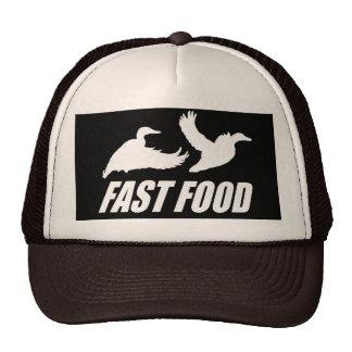 Fast food water fowl w mesh hat