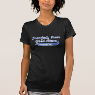 Fast Girls Have Good Times (Blue) T-Shirt