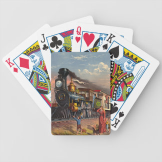 Fast Mail 1875 Bicycle Playing Cards
