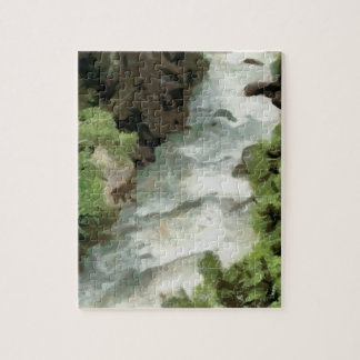 Fast moving river jigsaw puzzle