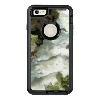 Fast moving river OtterBox defender iPhone case