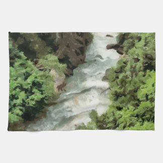 Fast moving river towels