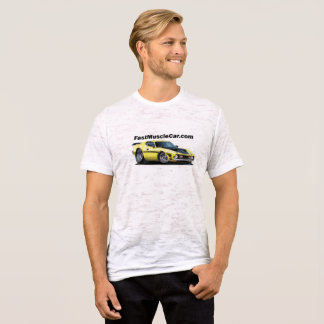 Fast muscle Car Canvas T-Shirt