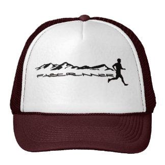 fast runner jogger caps trucker hat