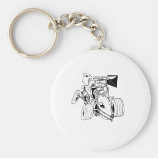 Fast Sprints Sprint Car Series Keychain