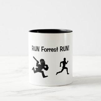 Fast Trees Two-Tone Coffee Mug