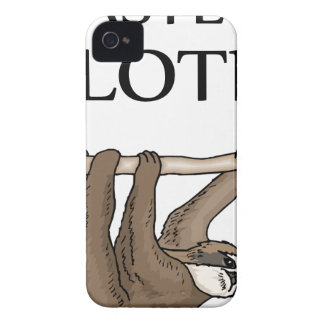 faster sloth iPhone 4 covers