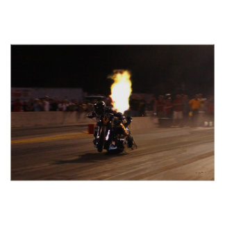 """""""FASTEST TOP FUEL DRAG BIKE ON THE PLANET POSTER"""