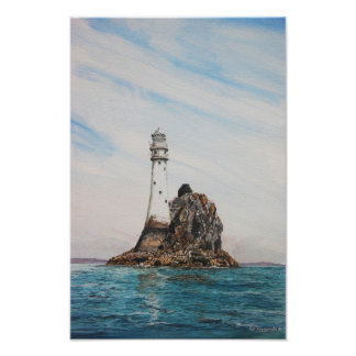 Fastnet Lighthouse, Cork , Ireland (photoprint) Photo Print