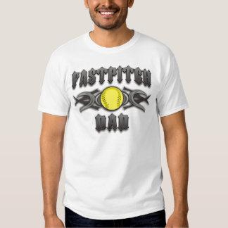 Fastpitch Softball Dad Tribal Tshirts