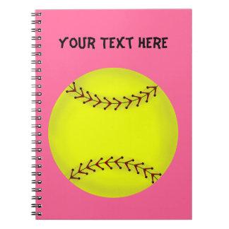 Fastpitch Softball Notebook