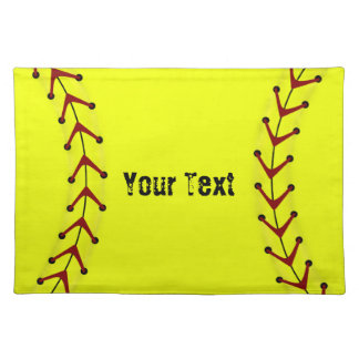 Fastpitch Softball Placemat