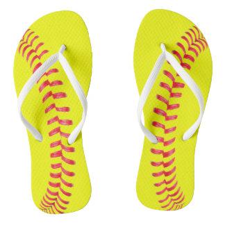 Fastpitch Softball Women's Flipflop Sandals Flip Flops