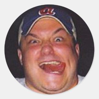 Fat Adam Sticker