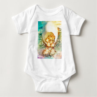 FAT AND SASSY EASTER HATCHLINGS BABY BODYSUIT