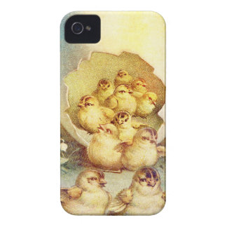 FAT AND SASSY EASTER HATCHLINGS iPhone 4 COVERS
