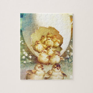 FAT AND SASSY EASTER HATCHLINGS JIGSAW PUZZLE