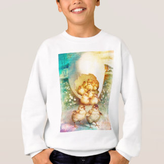 FAT AND SASSY EASTER HATCHLINGS SWEATSHIRT