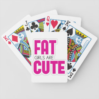 Fat Bicycle Playing Cards