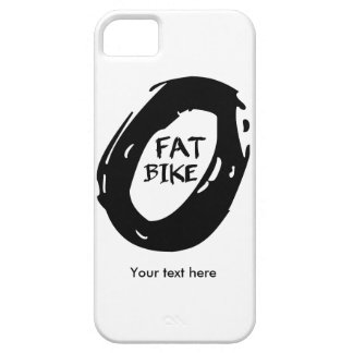 Fat Bike iPhone 5 Case