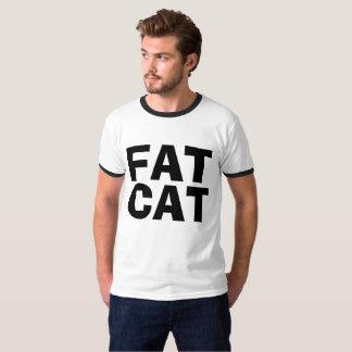 FAT CAT (boss, rich guy) T-shirts