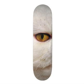 Fat Cat Evil Eye Custom Pro Park Board Skateboard