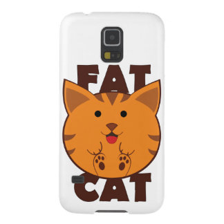 Fat Cat Galaxy S5 Covers