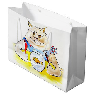 Fat Cat Gift Bag
