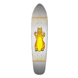 Fat Cat Luxury Custom Pro Long Board Skateboard