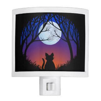 Fat Cat Nightlight Black Cat Lover Night Light