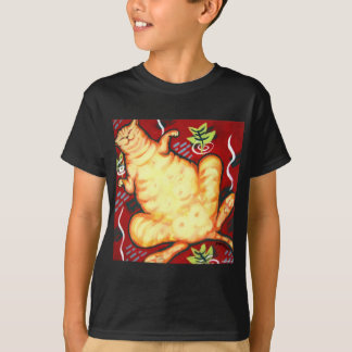 Fat Cat on a Cushion T-Shirt