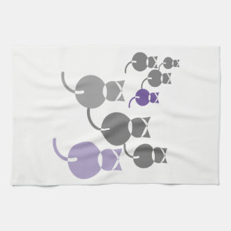Fat Cats 2 Kitchen Towel