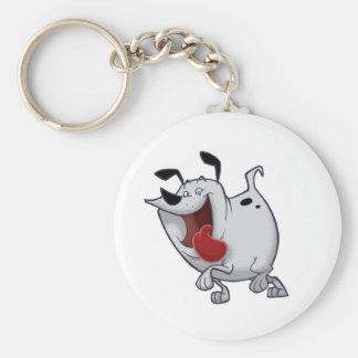 Fat Dog Keychain