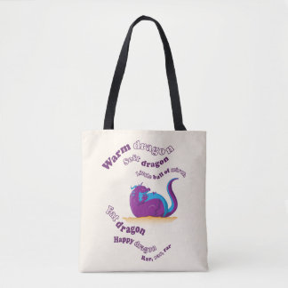 Fat Dragon Tote Bag
