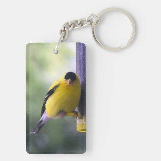 Fat Finch Keychain