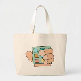 Fat Finger Large Tote Bag