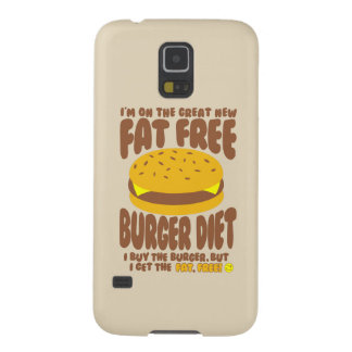 Fat Free Burger Diet Galaxy S5 Cover