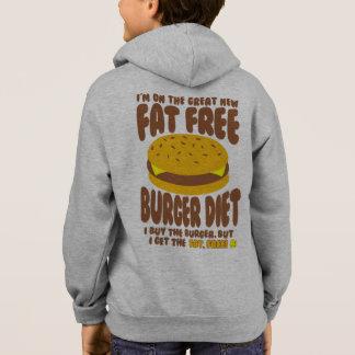 Fat Free Burger Diet Hoodie