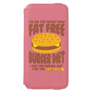 Fat Free Burger Diet Incipio Watson™ iPhone 6 Wallet Case