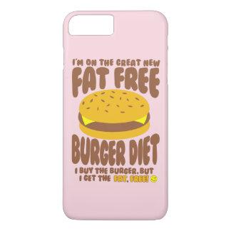 Fat Free Burger Diet iPhone 8 Plus/7 Plus Case