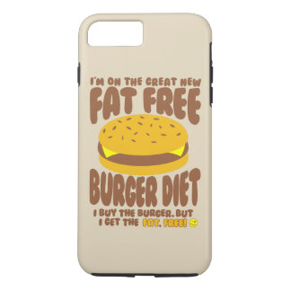 Fat Free Burger Diet iPhone 8 Plus/7 Plus Case