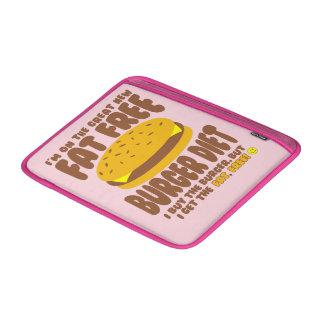 Fat Free Burger Diet MacBook Sleeve
